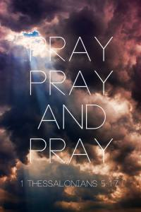 Pray Pray Pray 1 Thess