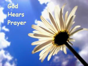 PRAY God hears prayer Eph 6-18