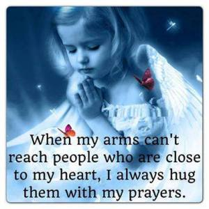 PRAY hug friends with prayers