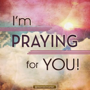 PRAY praying for you