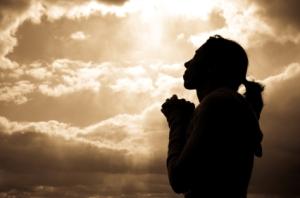PRAY woman-praying