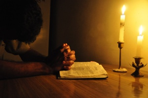 prayer-bible-candle