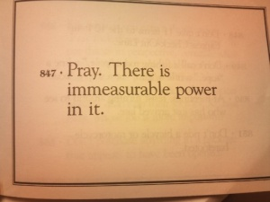 immeasurable prayer power