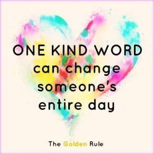 BK one kind word changes