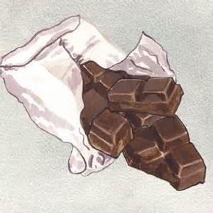 Chocolate illustration Credit - Michael Toland