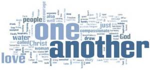 one another word cloud