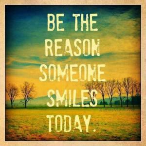 SMILE reason someone smiles