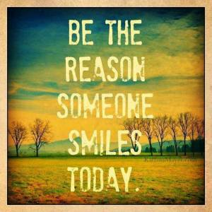 SMILE reason someone smiles