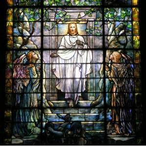 Tiffany studios - Resurrection window