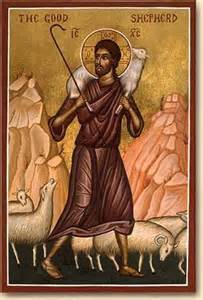 Jesus the Good Shepherd icon John 10