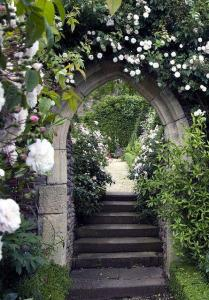 Gothic arched gate - credit Bell of Contentment