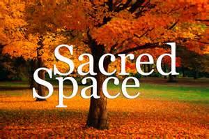 sacred space - autumn tree