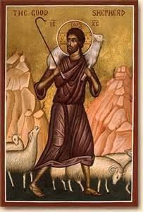 Jesus the Good Shepherd icon John 10