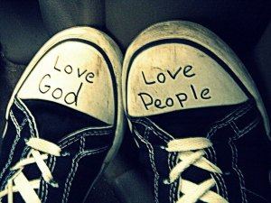 LOVE love God love people