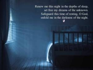 From dailyoffice.org - photo from Compline