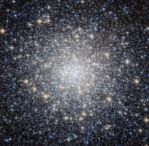 Messier 92, located in the constellation of Hercules -  photo credit Hubble Space Telescope - NASA - ESA