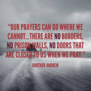 no borders to prayer