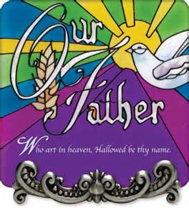 Our Father who art in heaven - colorful