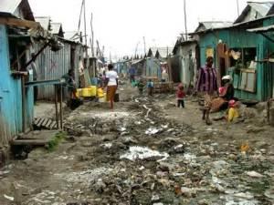 slum street image