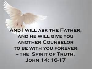 HOLY SPIRIT I will ask the Father John 14