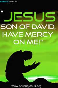 SON OF DAVID have mercy words