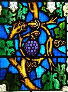 VINE Vine stained glass John 15