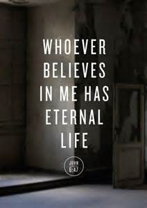 eternal life John