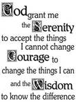serenity prayer small