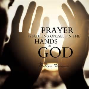 prayer to God as I understand God