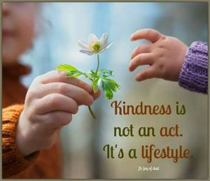 BK kindness is an attitude