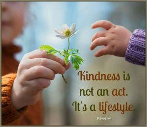 BK kindness is an attitude