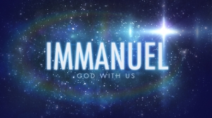 IMMANUEL God with us stars