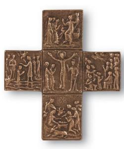 paschal mystery wall cross