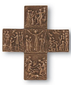 paschal mystery wall cross