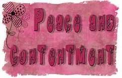 peace and contentment