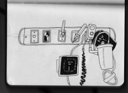 hospital drawing