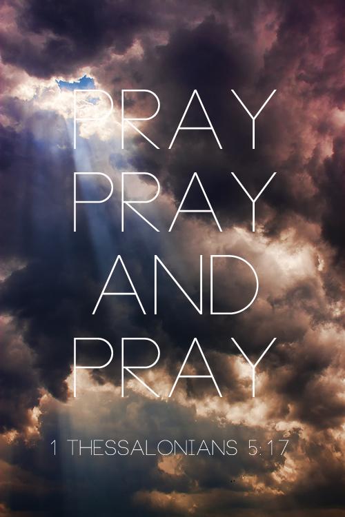 pray pray pray
