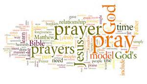 prayer wordcloud