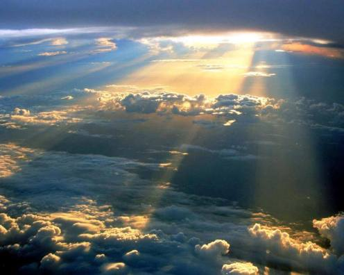 sun-through-clouds-taken-from-airplane