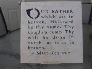 Our Father Matt 6