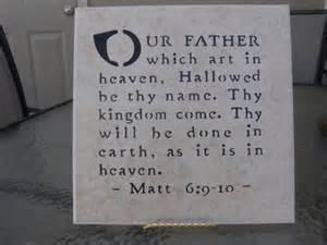 Our Father Matt 6