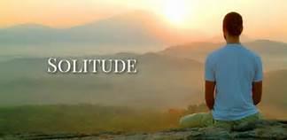 solitude - sitting