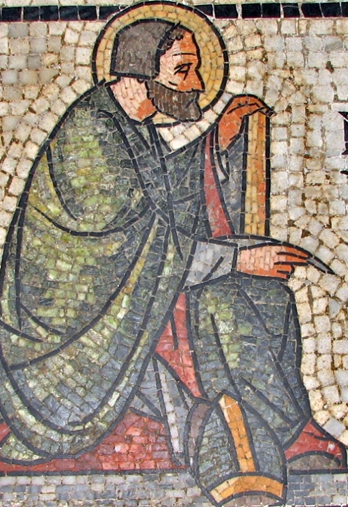 St. Augustine mosaic