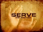 serve one another, Mark 10