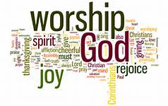 worship word cloud