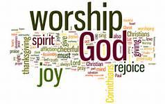 worship word cloud