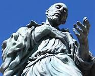 St. Ignatius of Loyola, statue
