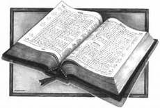 Bible, drawing