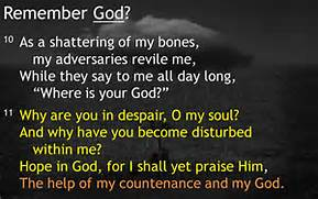 psalm 42-11 help of my countenance