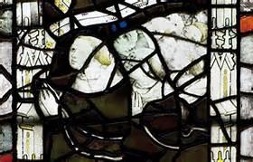 prayer stained glass, Balliol College, Oxford